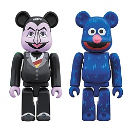 [BE@RBRICK] COUNT VON COUNT & GROVER 2 PACK